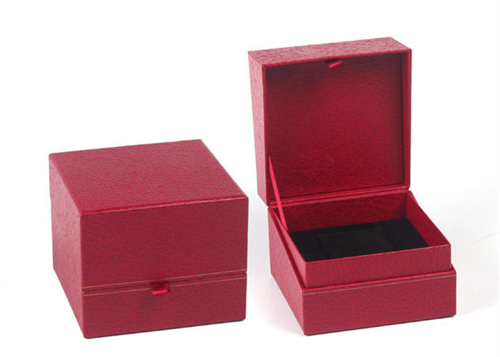High End Women Paper Watch Box Square UV Coating Environmentally Friendly
