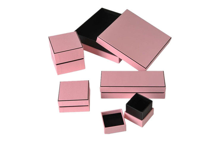 Durable Bulk Jewelry Boxes High Grade , Recyclable Square Gift Boxes With Lids